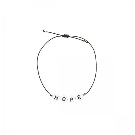 Armband zart HOPE Buchstaben