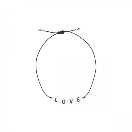 Armband zart LOVE Buchstaben