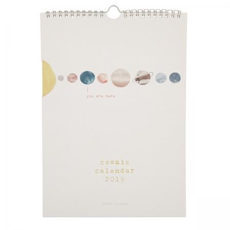 Wandkalender Cosmic Calendar 2019 Anna Cosma DIN A4 Deckblatt