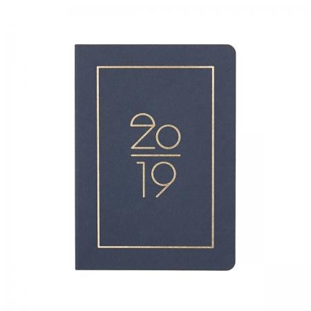 Kalender Pocket Planner 2019  Navucko Dunkelblau Front