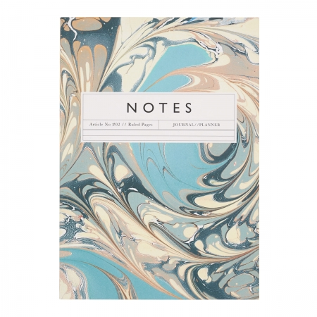 Notebook Notizheft Katie Leamon Goldschnitt Front